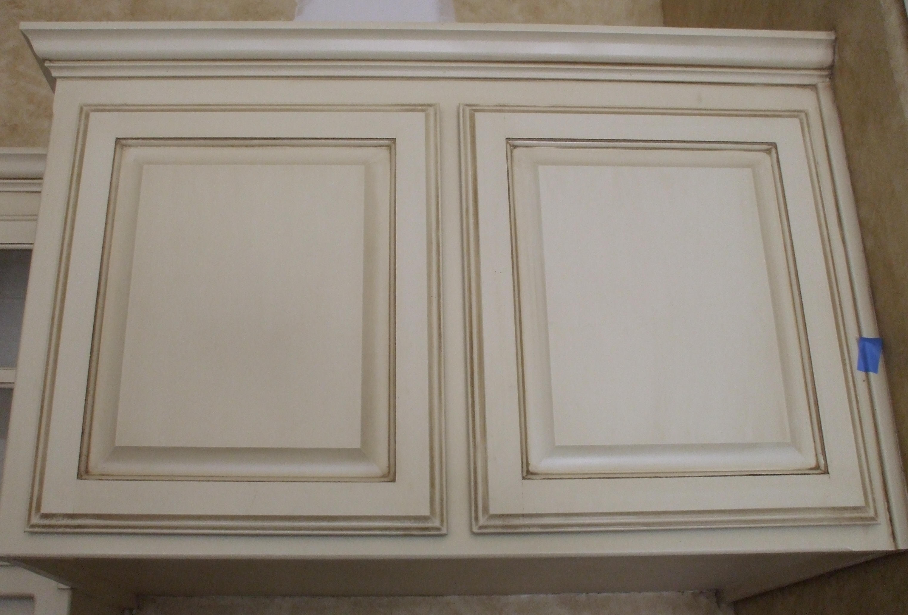 Faux Glaze Kitchen Cabinets