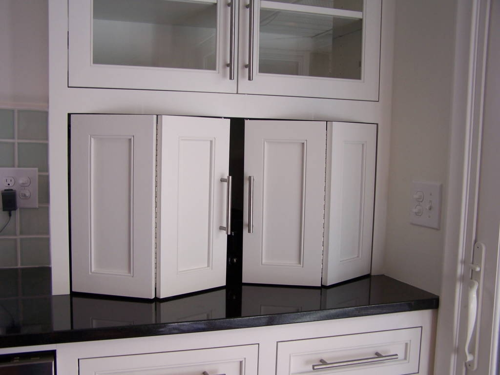 Permalink to Garage Door Kitchen Cabinets