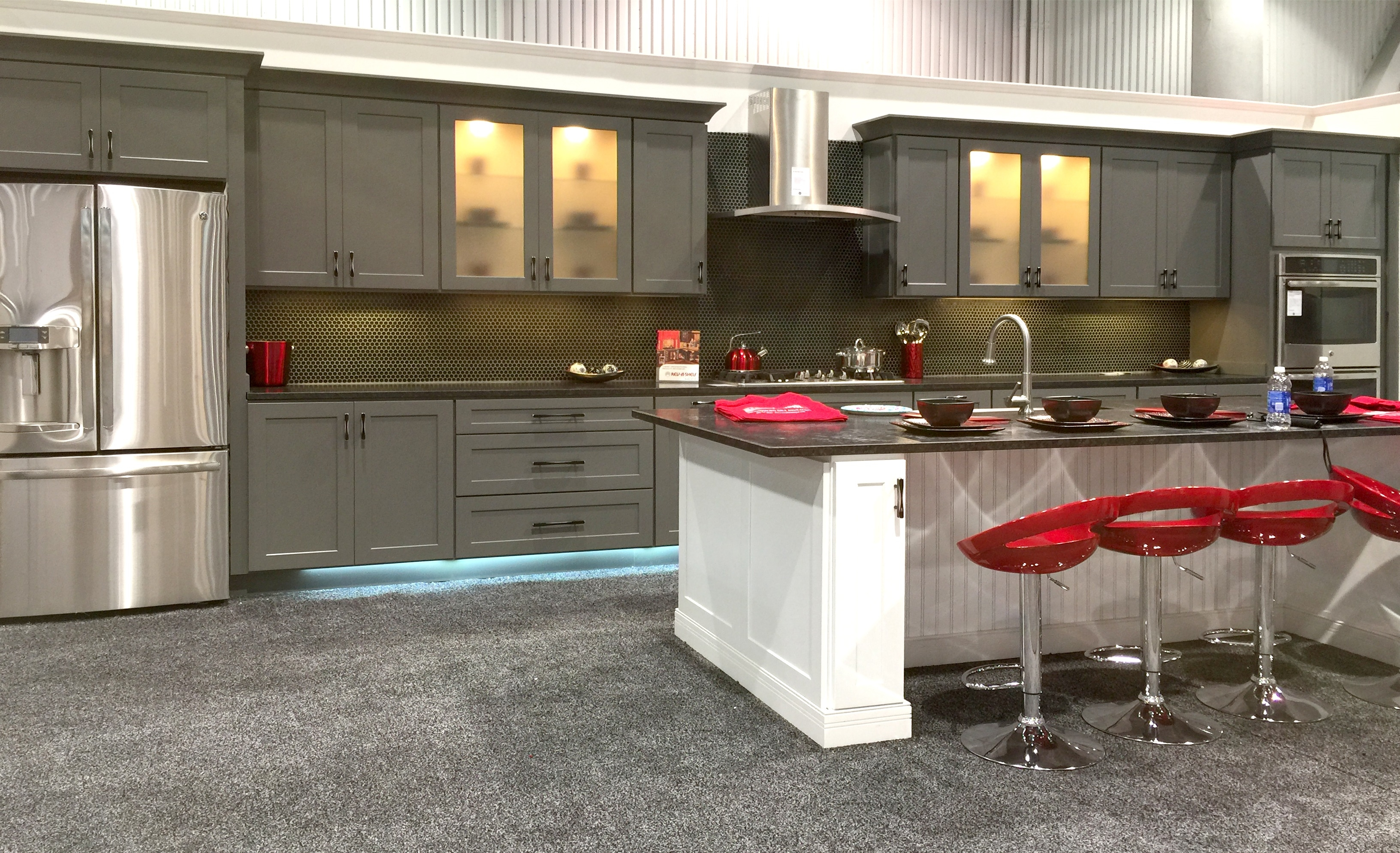 Grey Shaker Kitchen Cabinet Doors