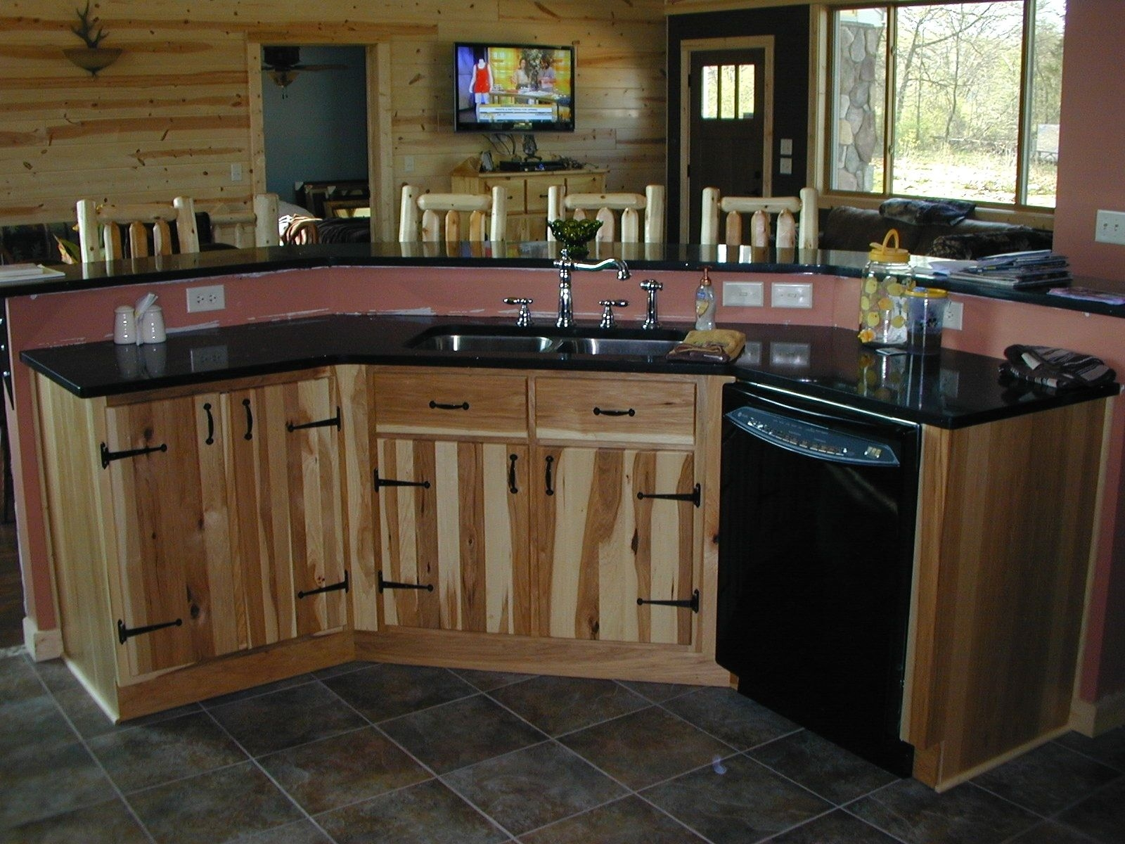 Hand Crafted Kitchen Cabinets