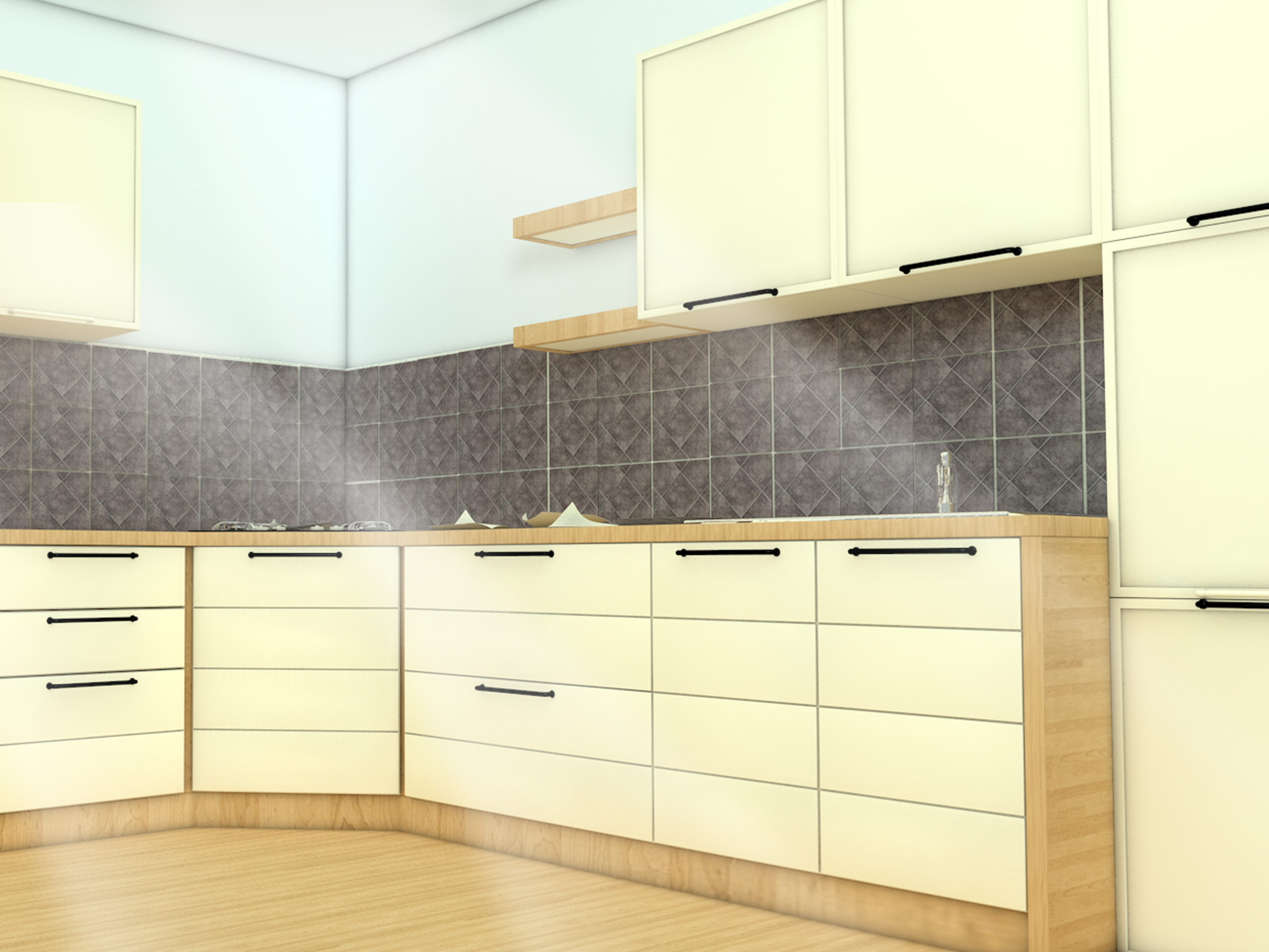 Hang Kitchen Cabinets On Drywall