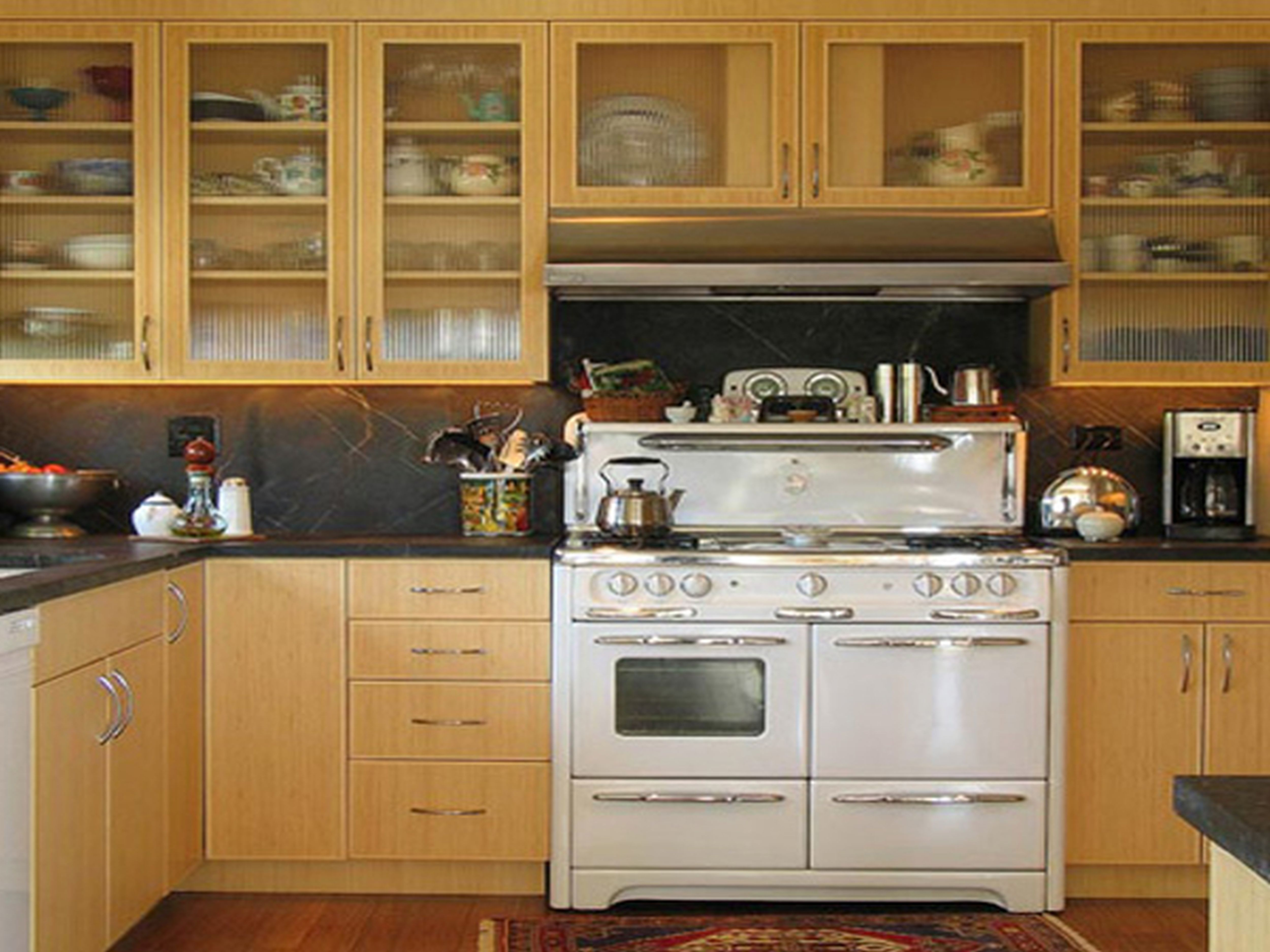 Genial Hanging Cabinet Design For Small Kitchen