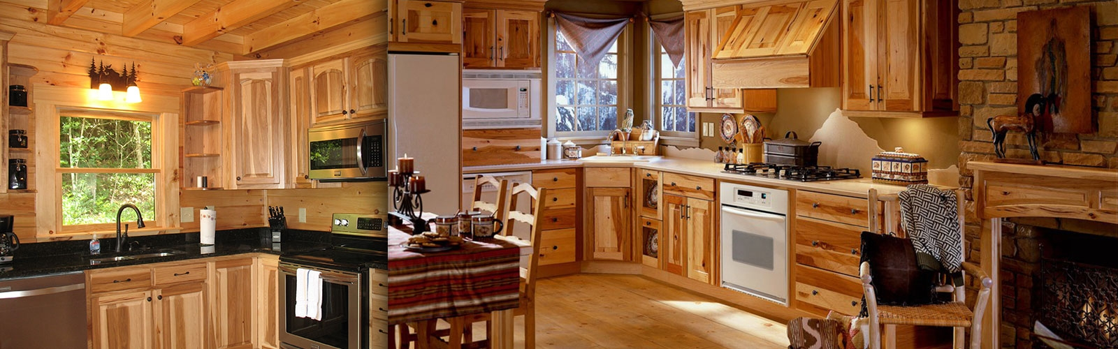 Hickory Cabinets Kitchen Design