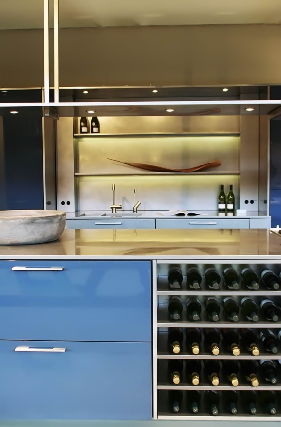 High Gloss Lacquer Kitchen Cabinet Doors