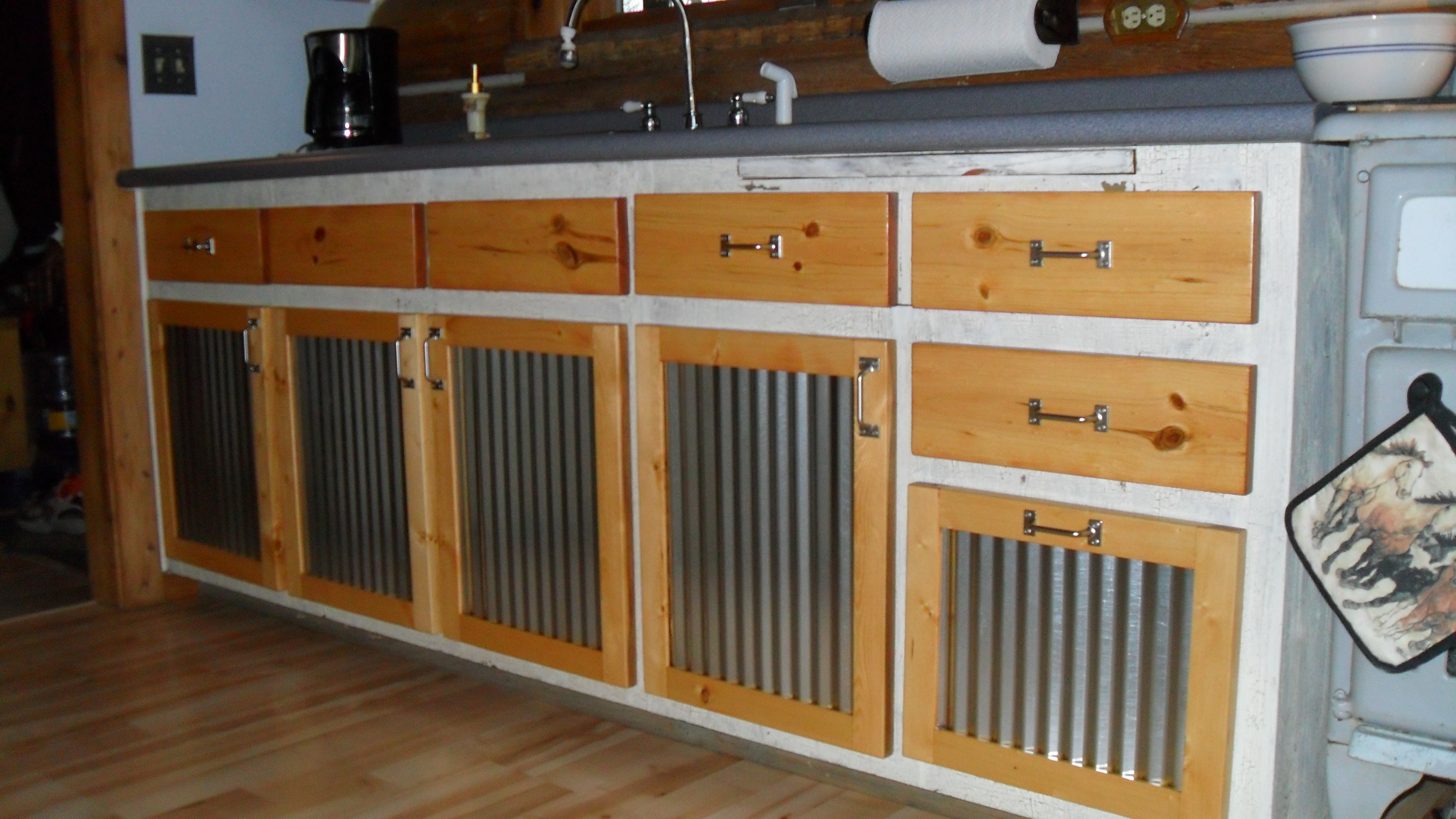 Home Built Kitchen Cabinets