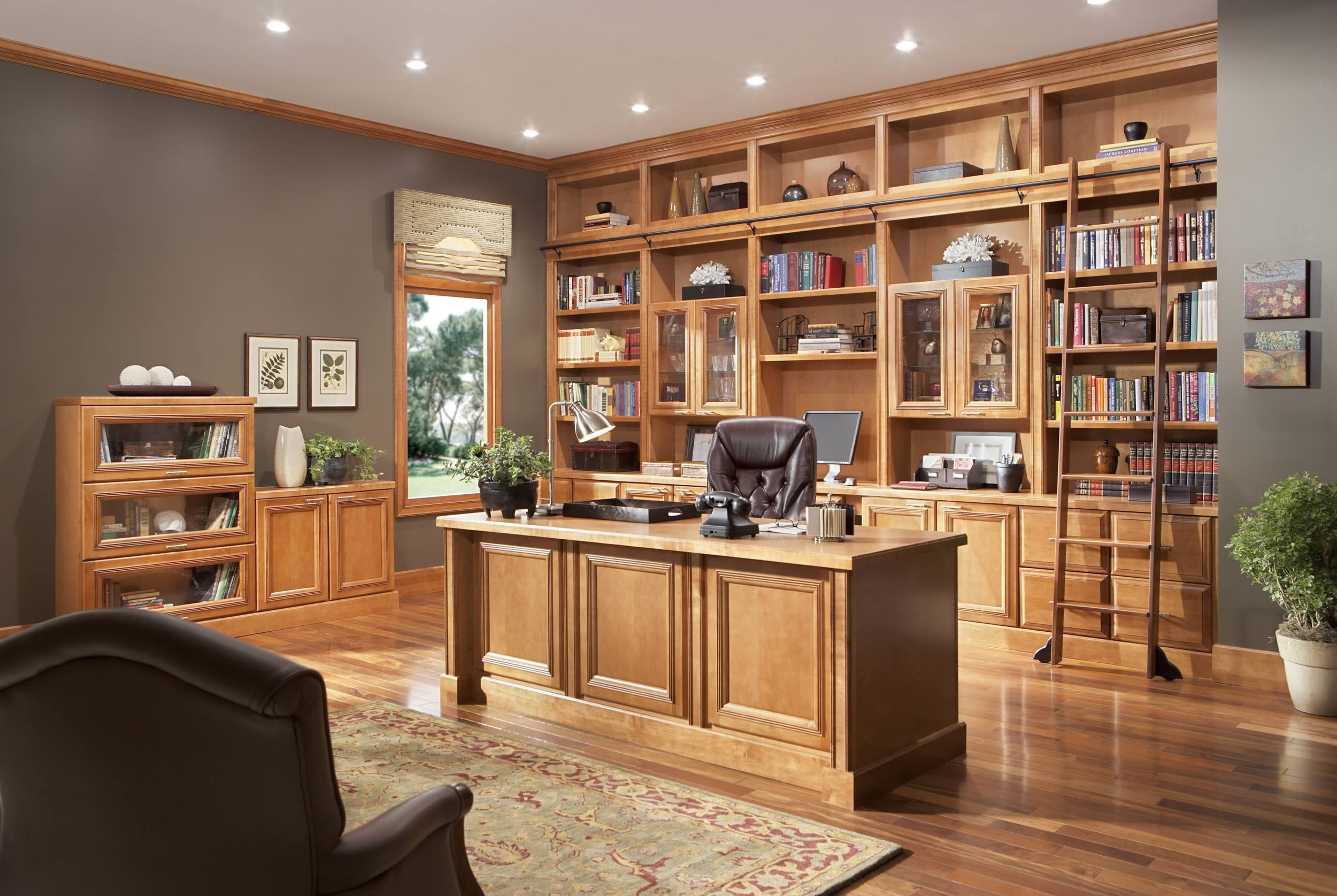 Home Office Kitchen Cabinets