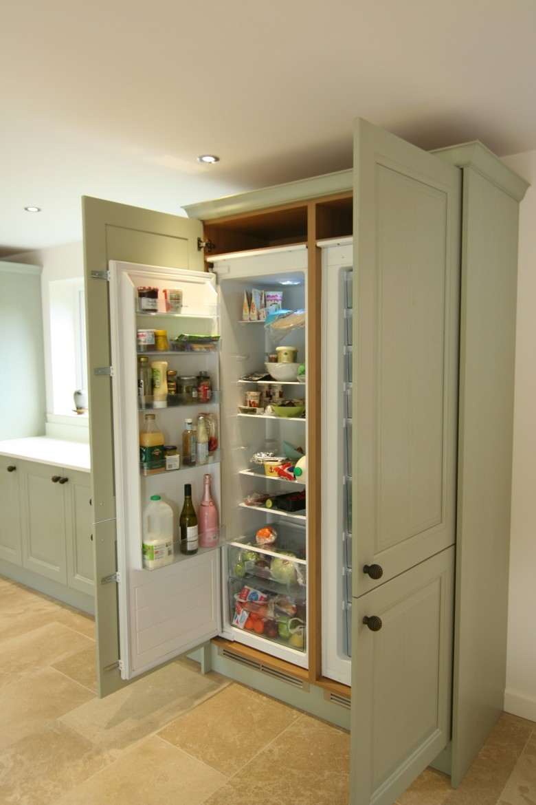 Integrated Appliance Kitchen Cabinet