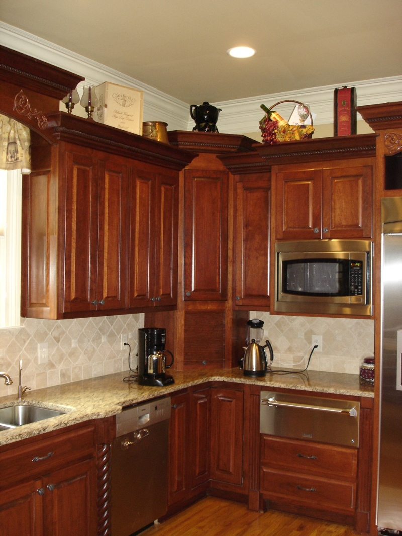 Kitchen Appliance Garage Cabinets