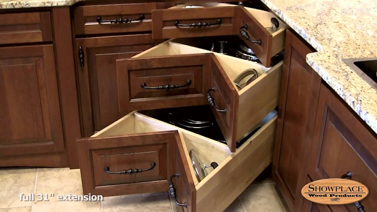 Kitchen Base Cabinet Corner Drawers