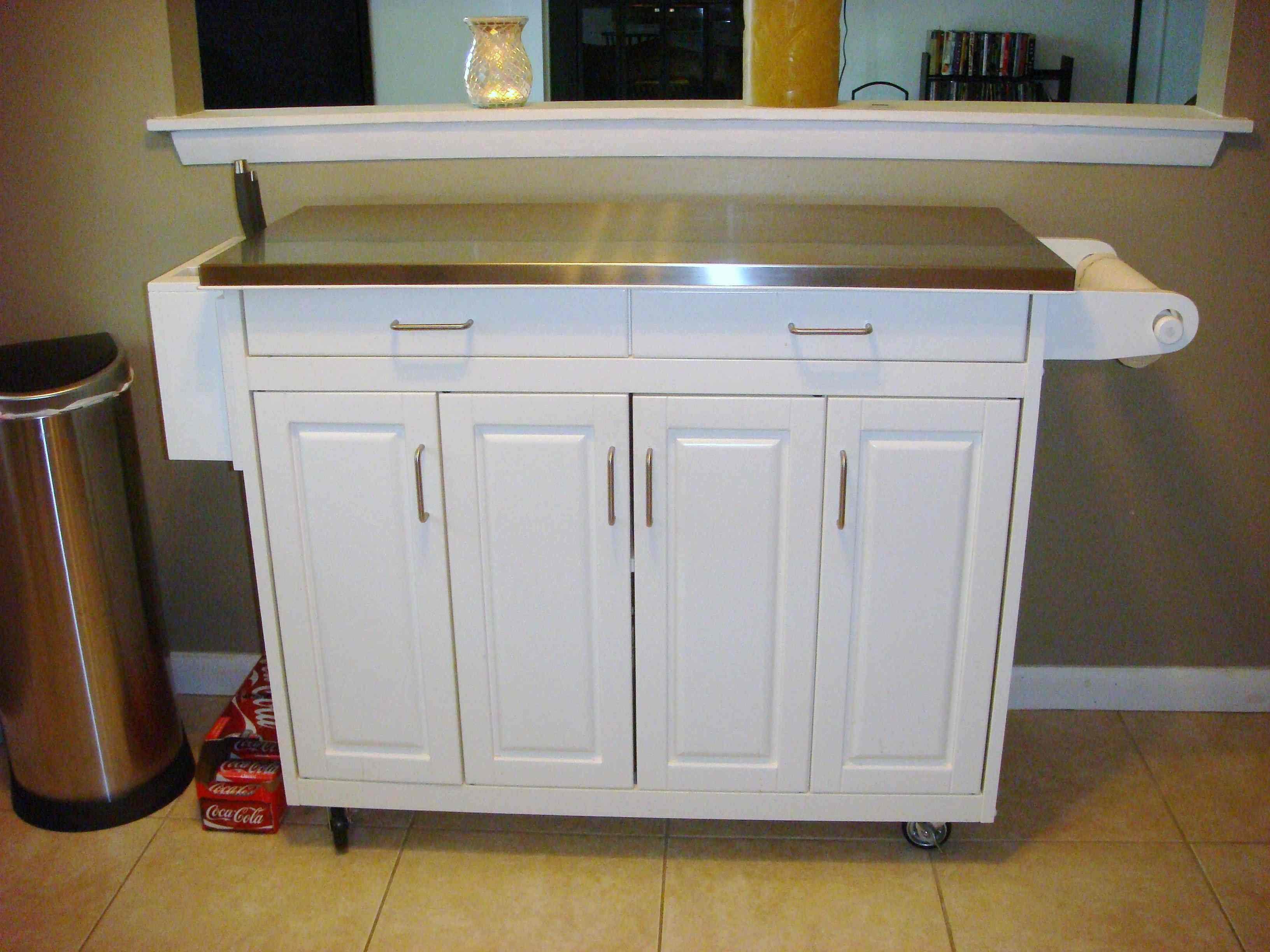 Kitchen Cabinet Buffet Table