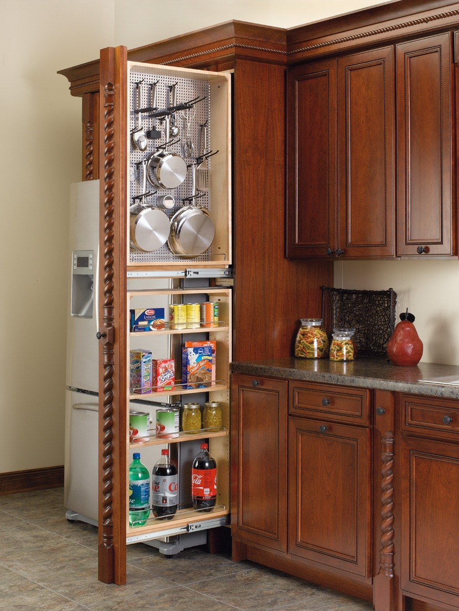 Kitchen Cabinet Filler And Pull Outs