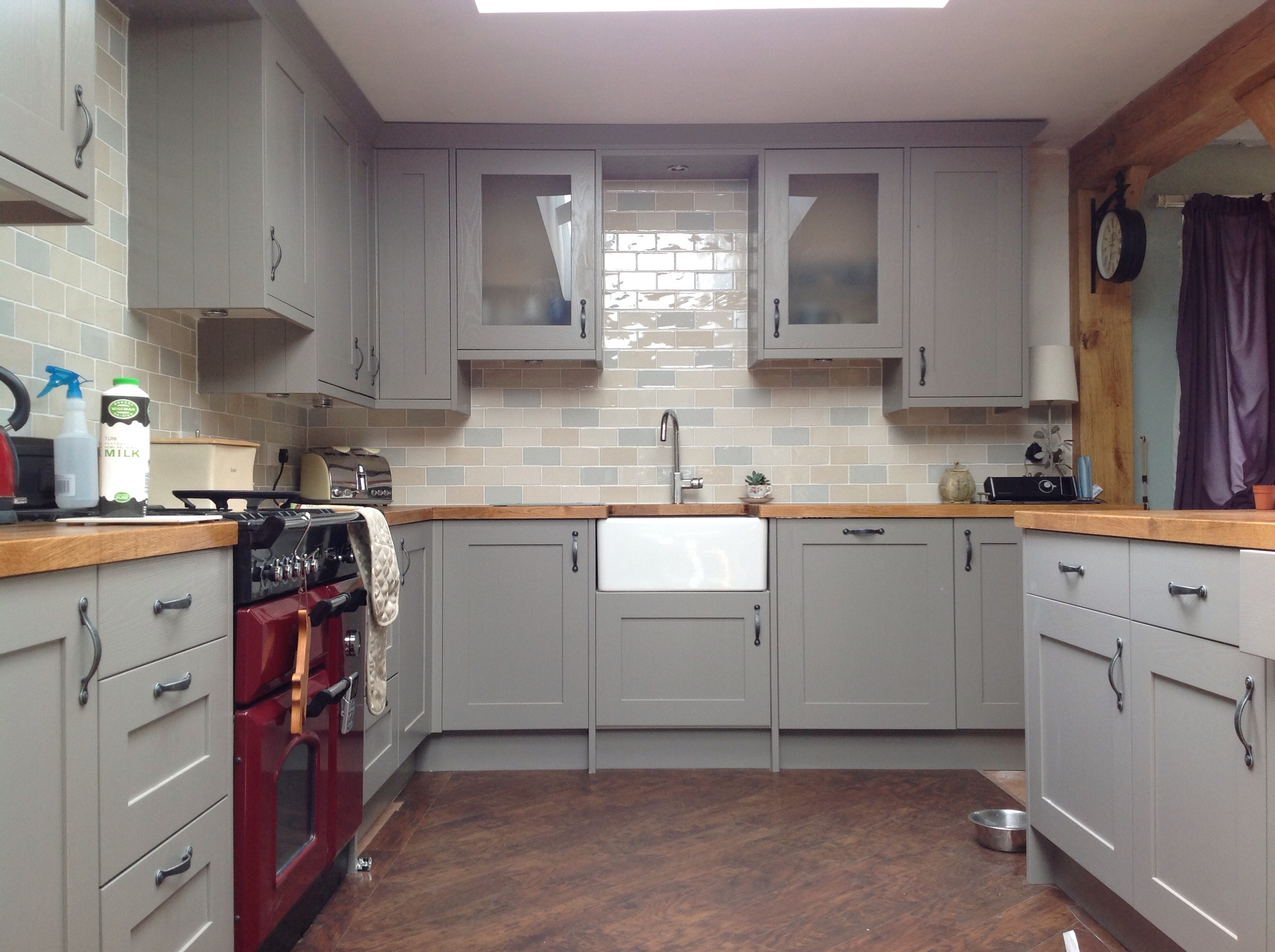 Kitchen Cabinet Hanging Rail B & Q