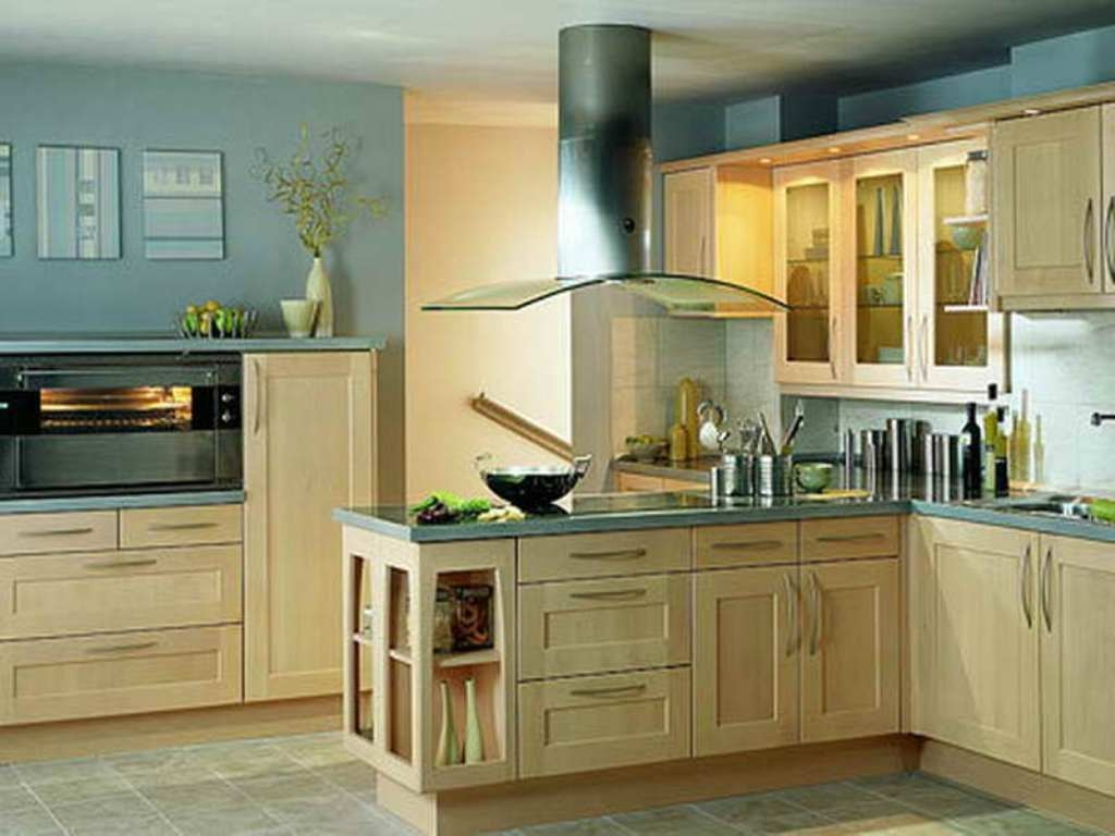 Kitchen Cabinet Wall Color Combinations