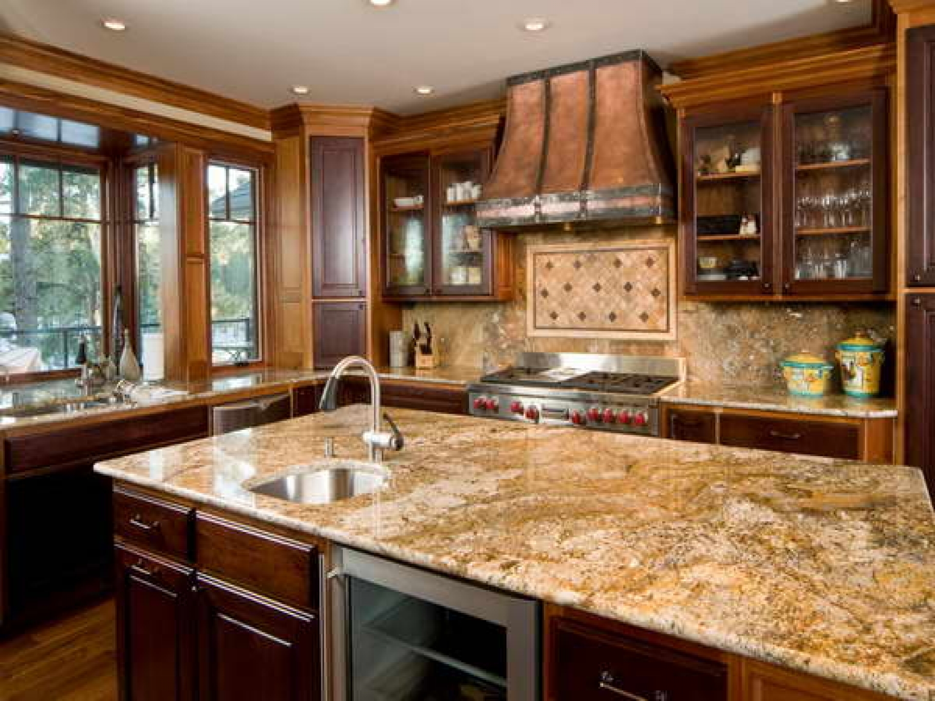 Kitchen Cabinet With Countertop