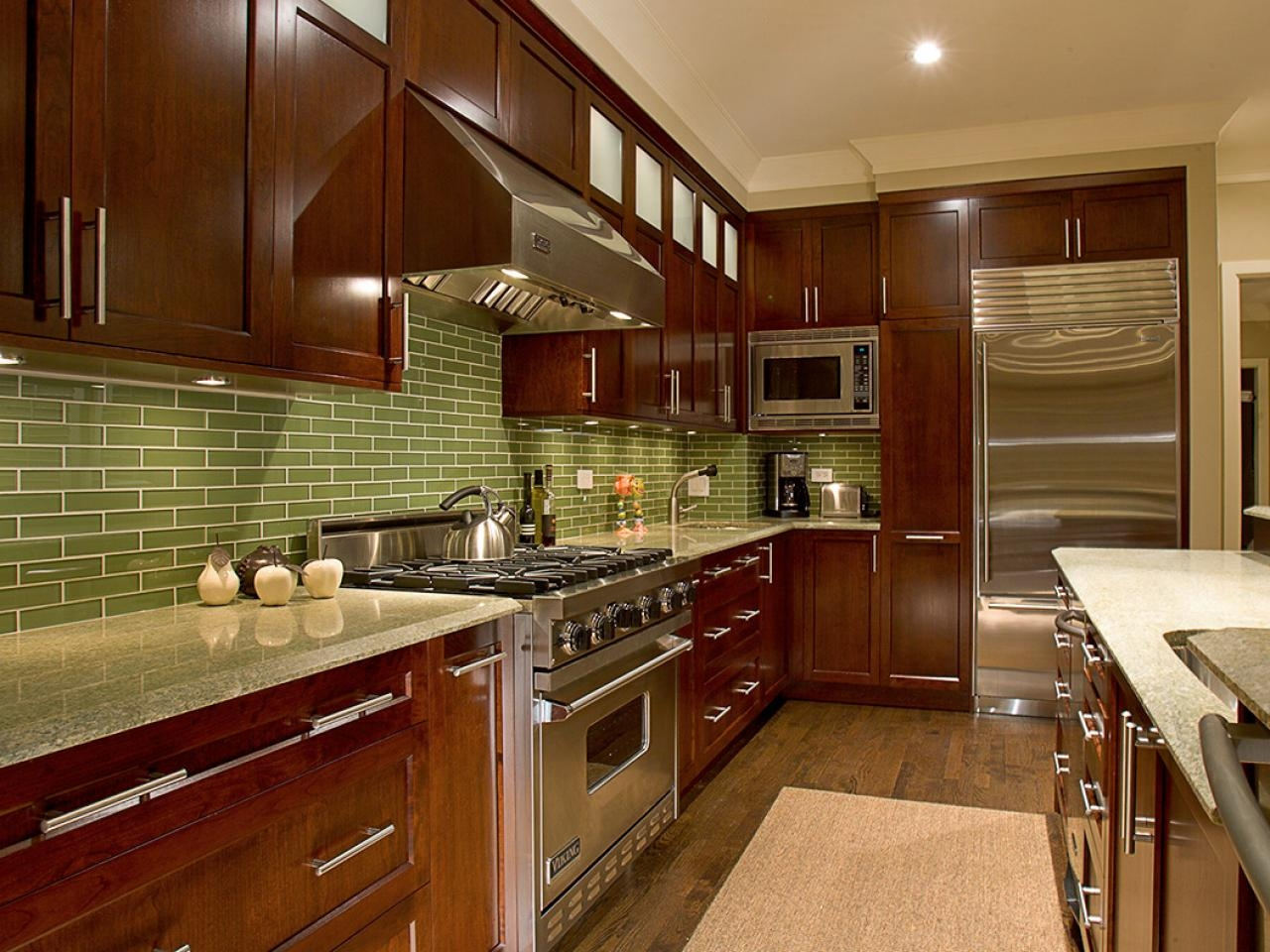 Kitchen Cabinets Dark Walnut