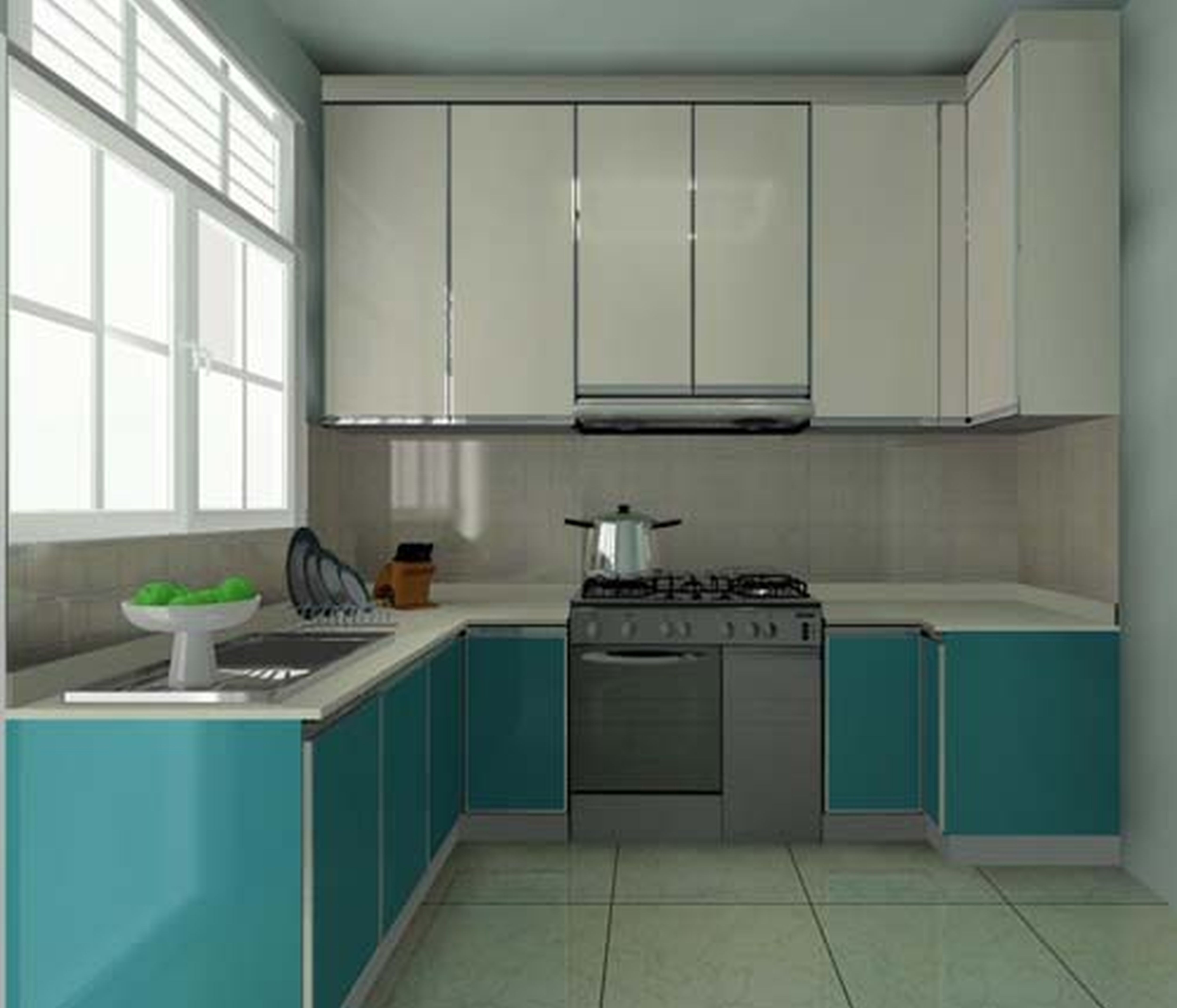 Kitchen Cabinets Design For Small Space