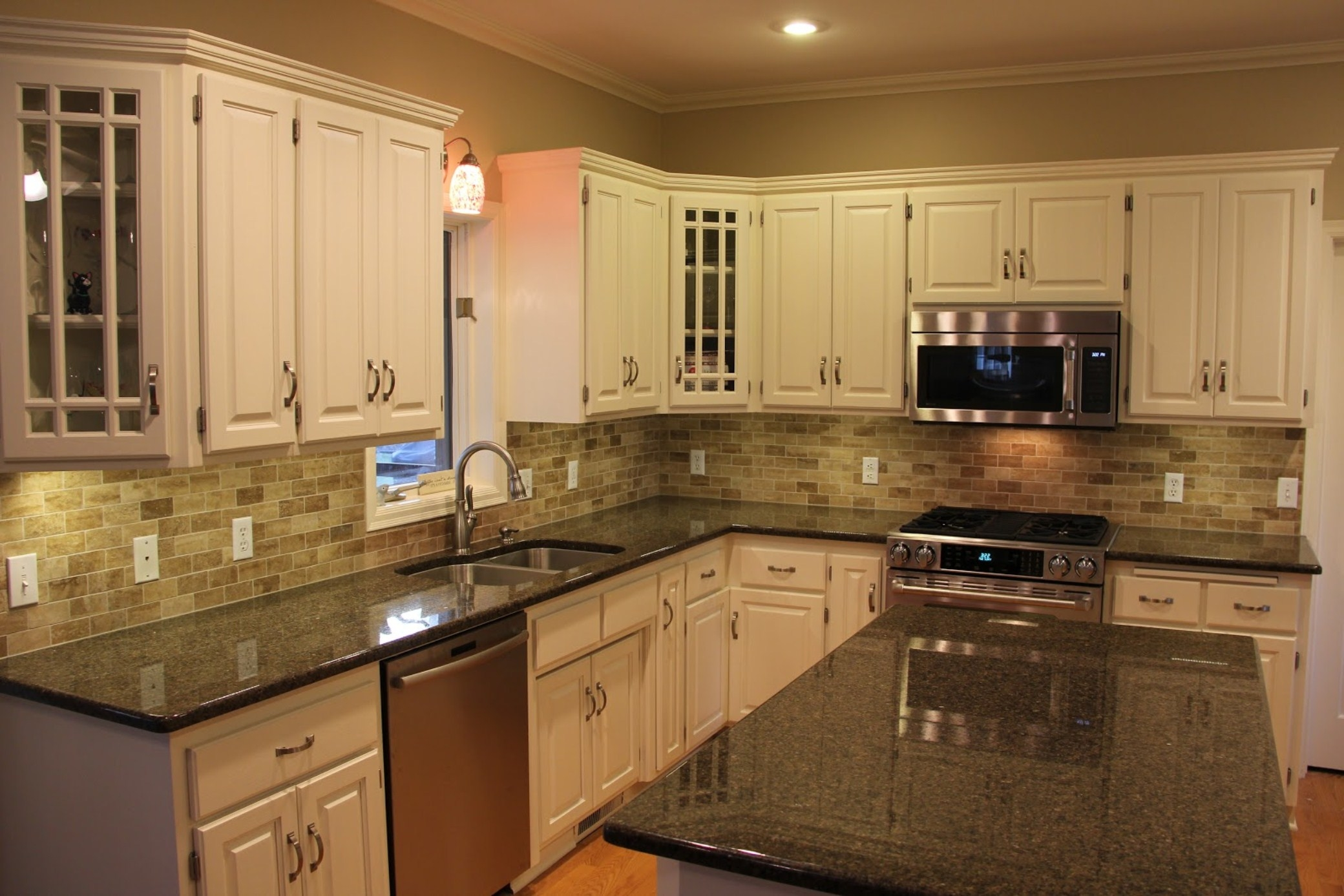 Kitchen Cabinets Granite Countertops Pictures