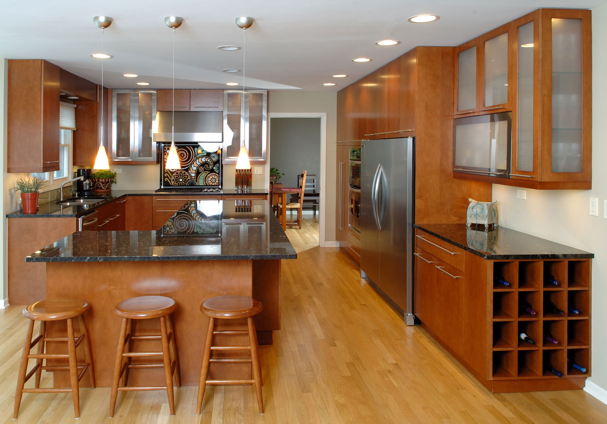 Kitchen Cabinets Maple Wood