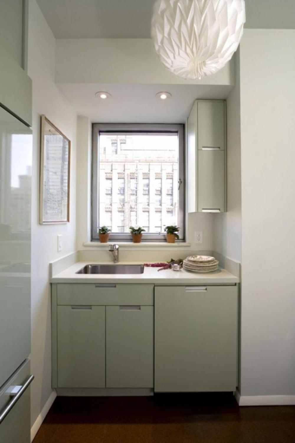 Kitchen Cabinets Small Apartment