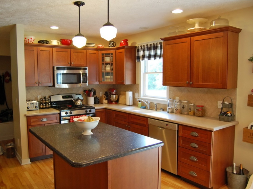 Kitchen Colors To Match Cherry Cabinets