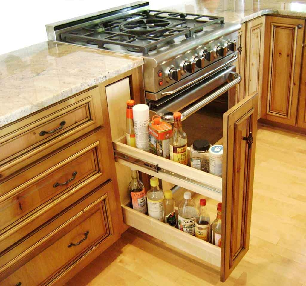 Kitchen Cupboard Shelf Ideas
