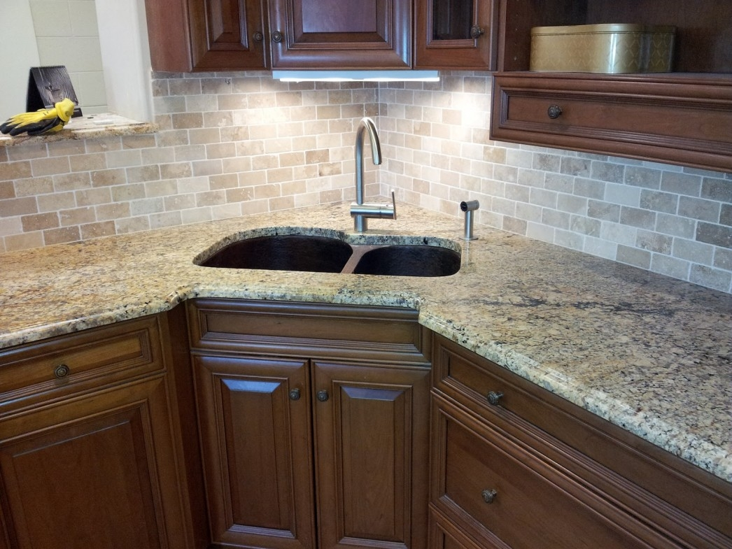 Kitchen Sink Cabinet With Countertop
