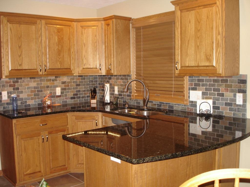 Matching Kitchen Cabinets With Backsplash