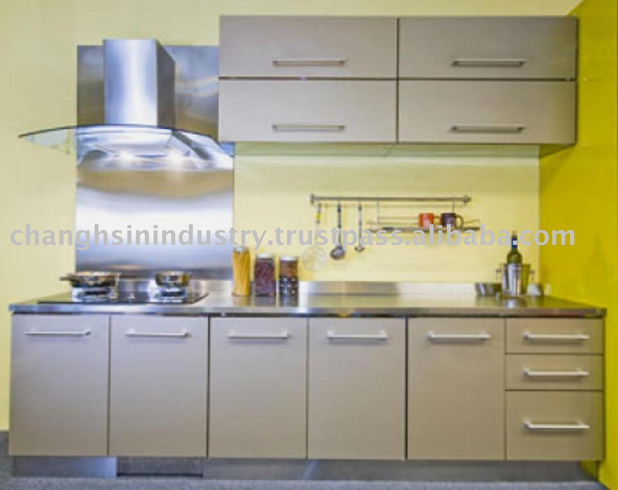 Metal Cabinets For The Kitchen