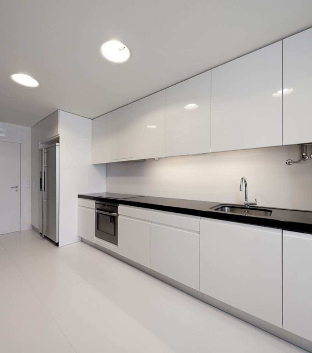 Modern Floor To Ceiling Kitchen Cabinets