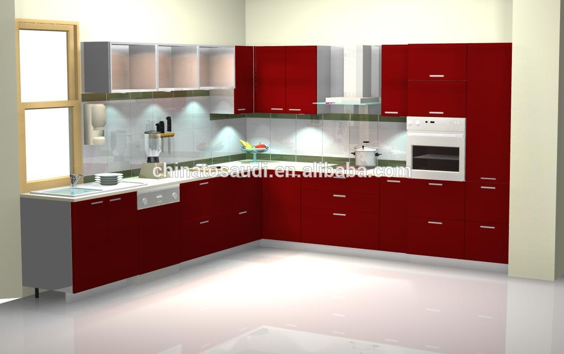 Modular Kitchen Cabinets Color Combination