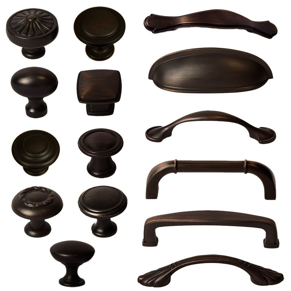 Oil Rubbed Bronze Kitchen Cabinet Pulls