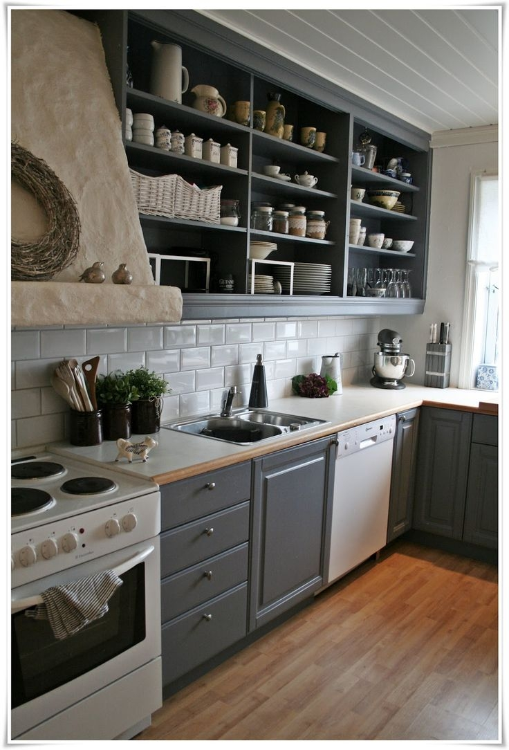 Open Face Kitchen Cabinet Ideas