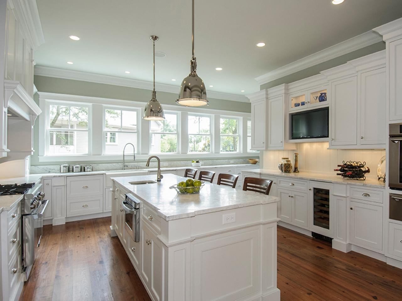 Perfect White Color For Kitchen Cabinets