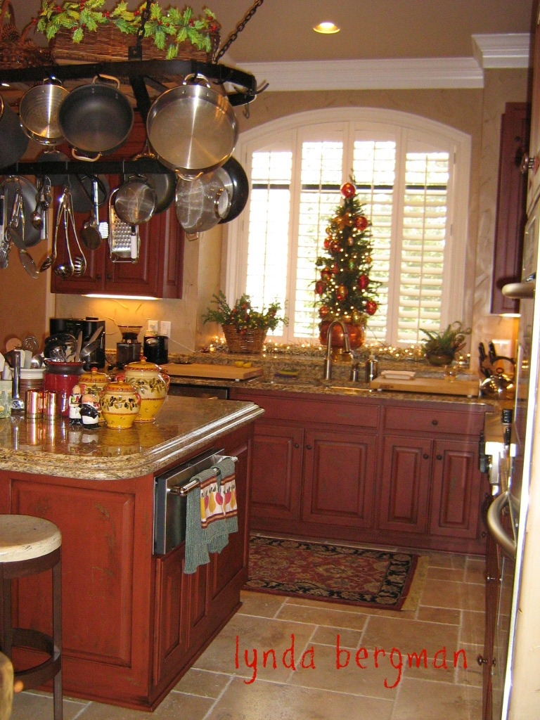 Pictures Of Barn Red Kitchen Cabinets