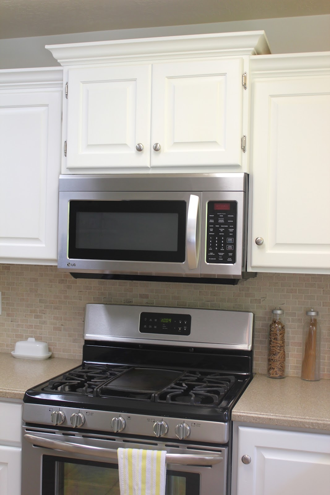 Raising Kitchen Cabinet For Microwave
