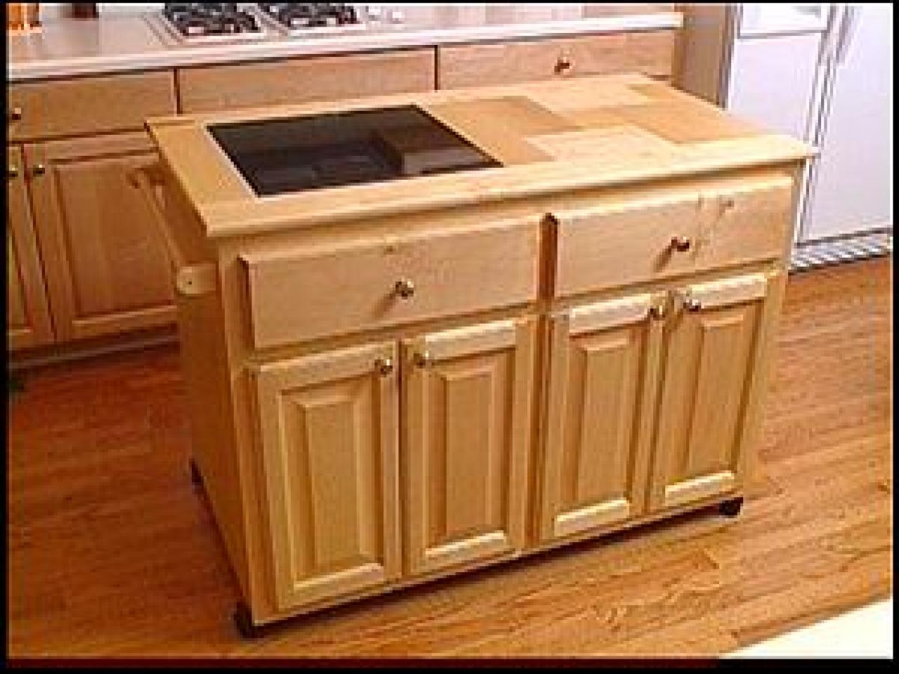 Rolling Kitchen Cabinet Plans