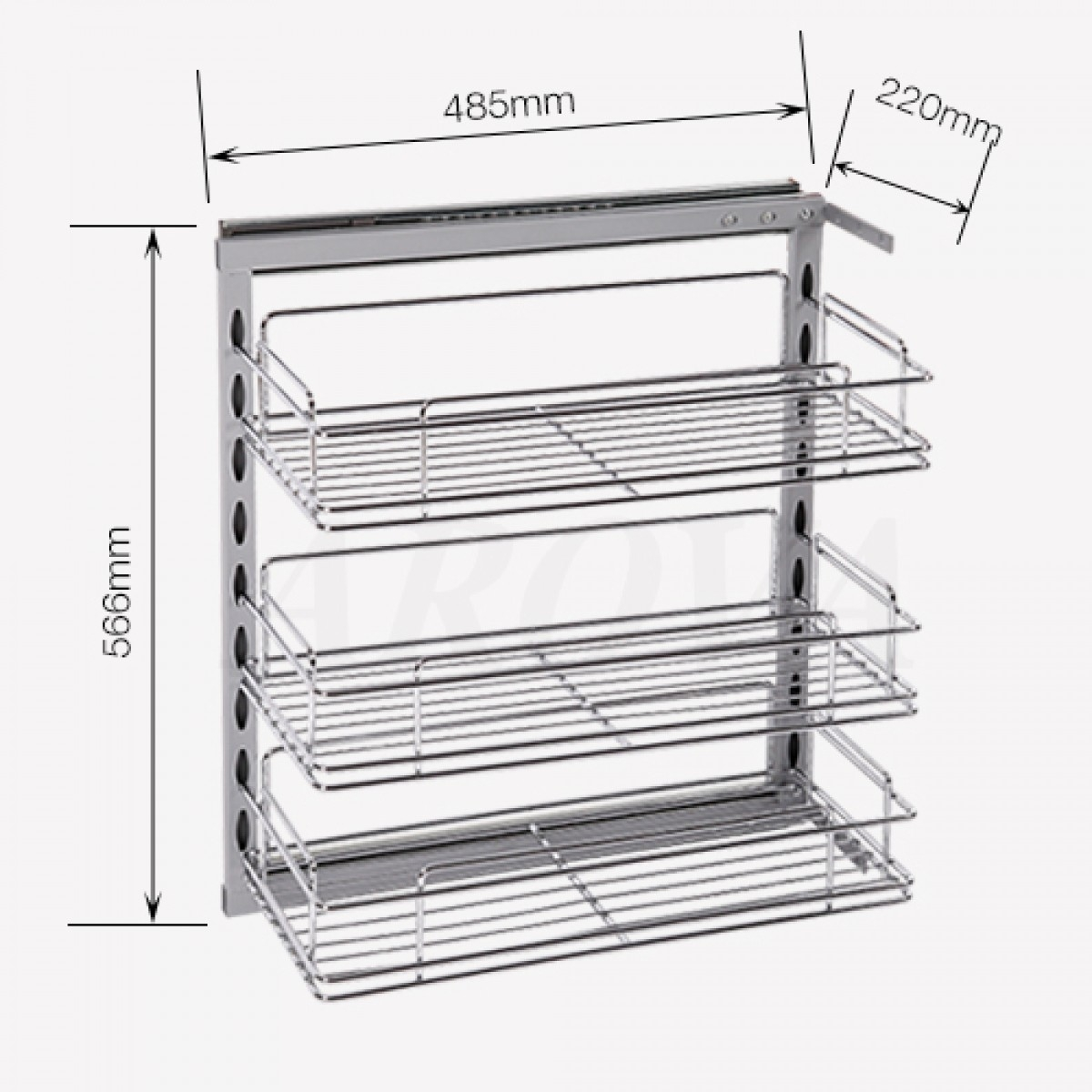 Slide Out Baskets For Kitchen Cabinets