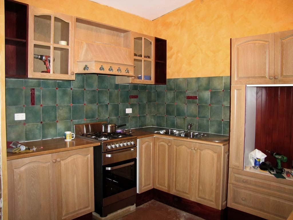 Small Kitchen Wall Cabinet Design