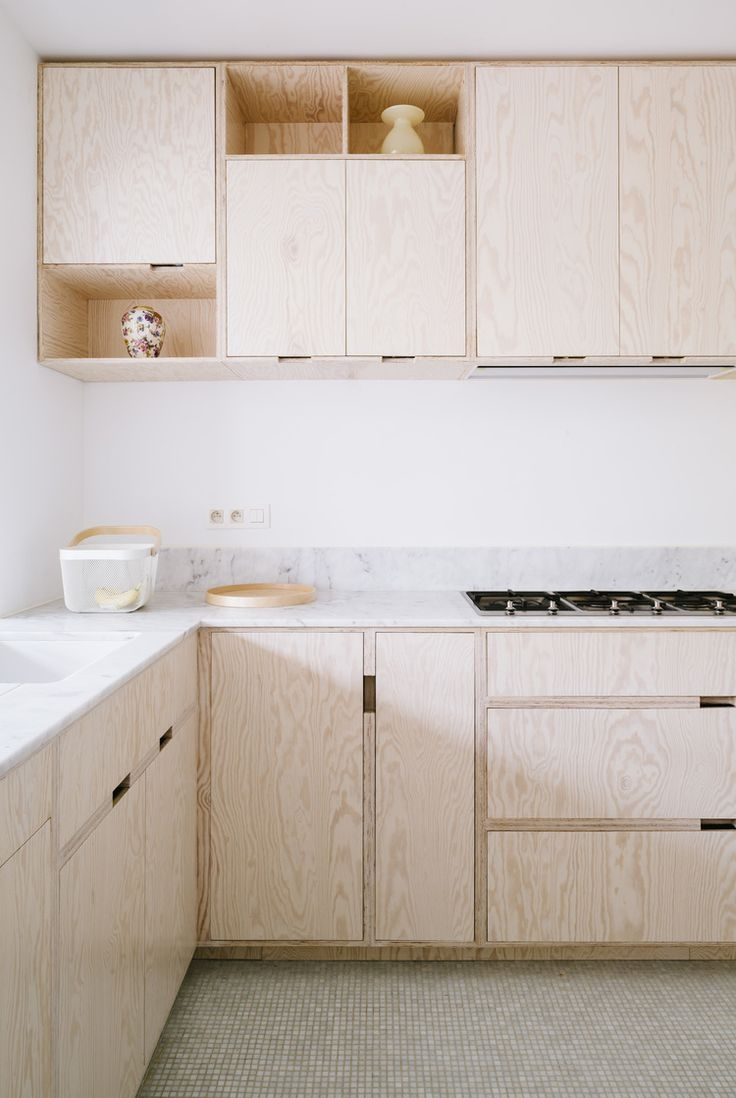 Solid Timber Kitchen Cabinets With Plywood Carcasses