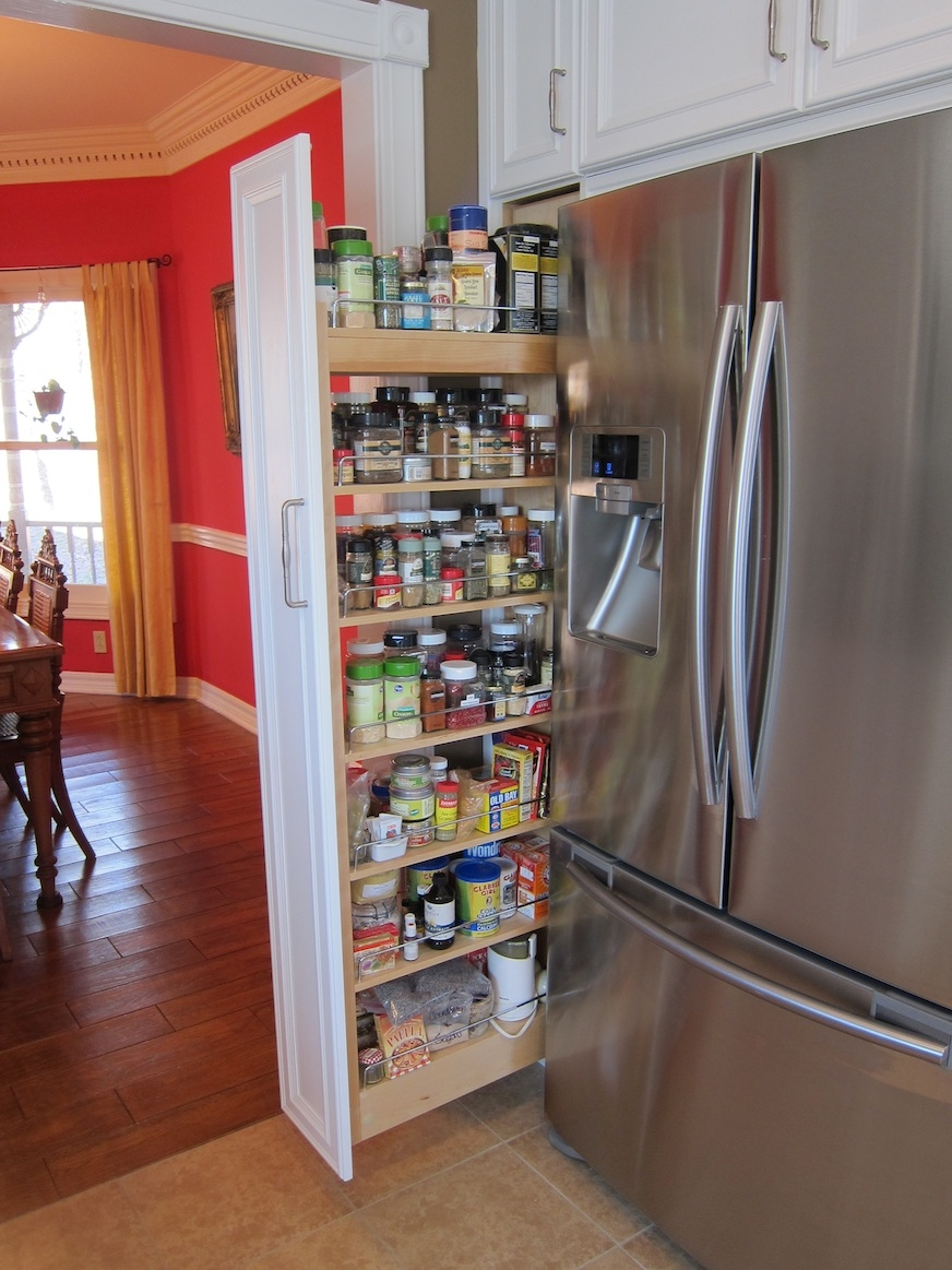 Spice Rack Kitchen Cabinet Pull Out