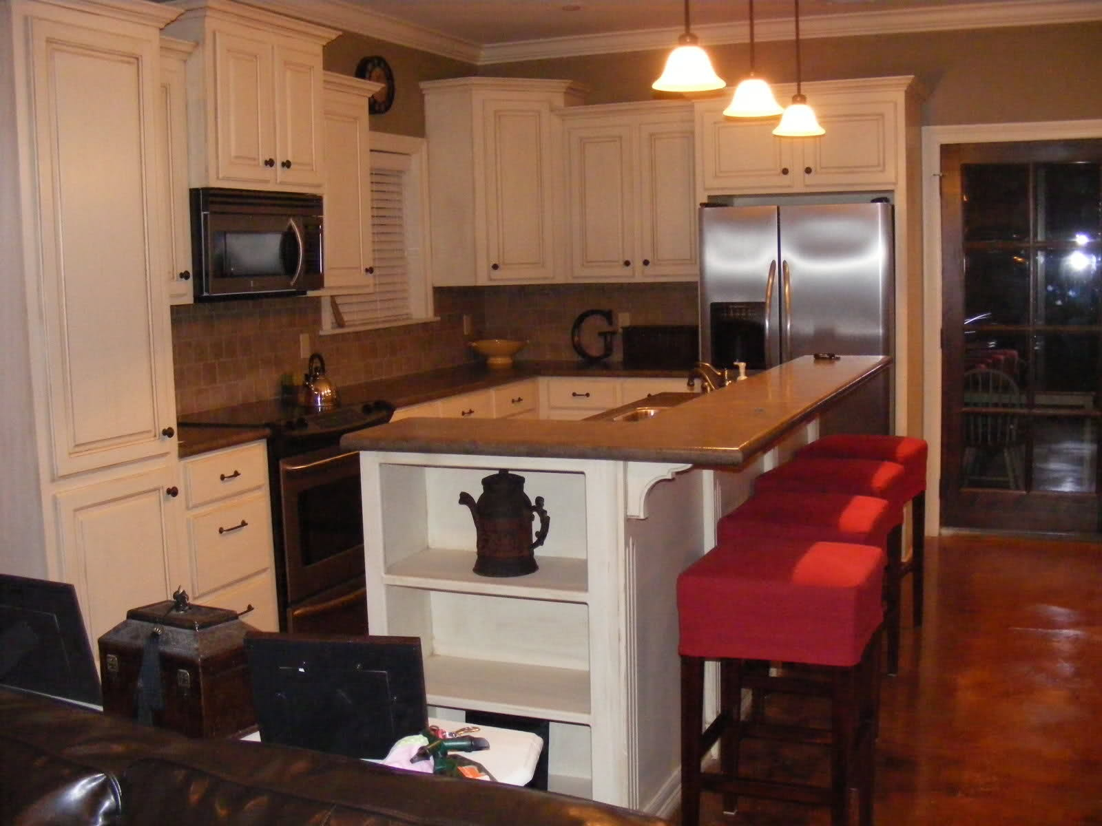 Staggered Kitchen Cabinets Heights