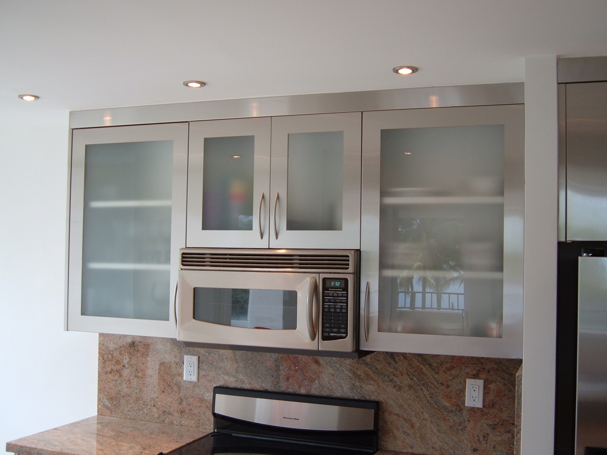 Permalink to Stainless Steel Cabinet Doors Kitchen