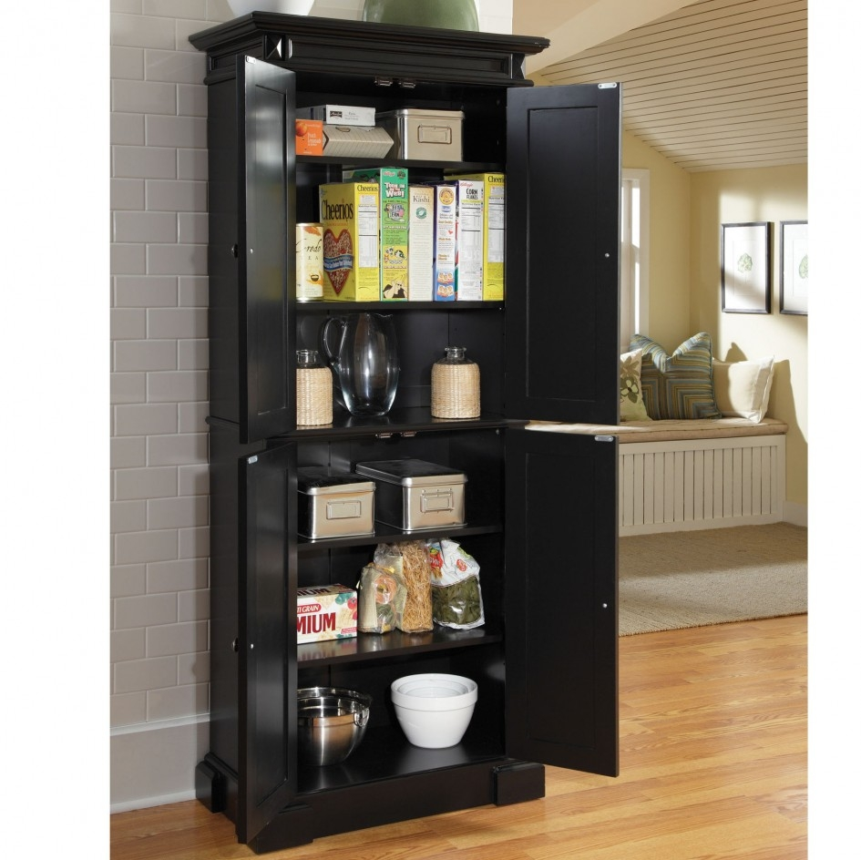 Tall Kitchen Storage Cabinets With Doors