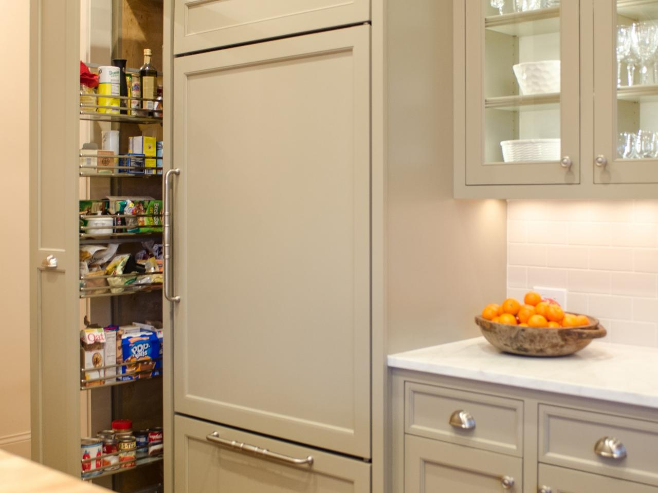Tall Kitchen Storage Cupboard