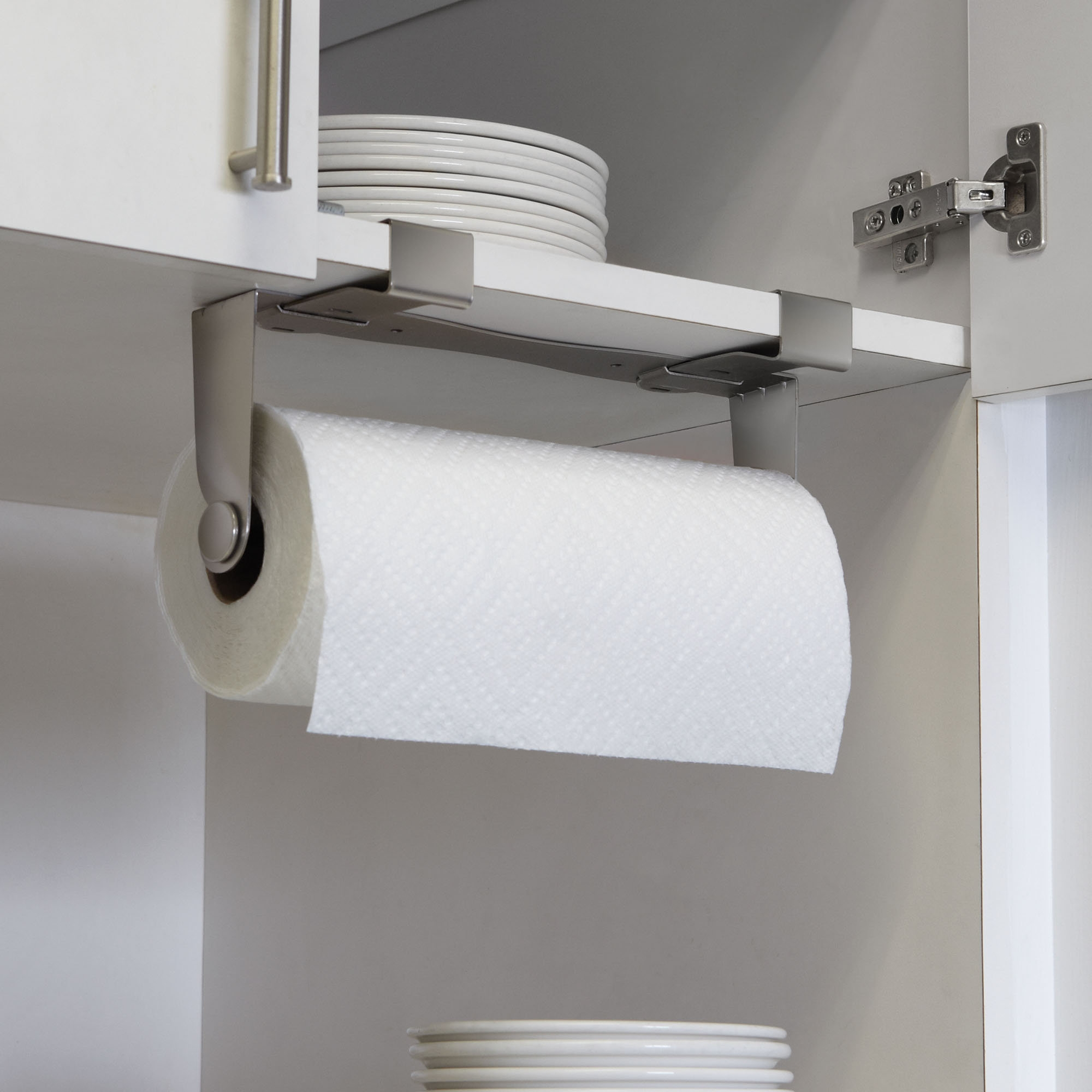 Under Kitchen Cabinet Towel Rack