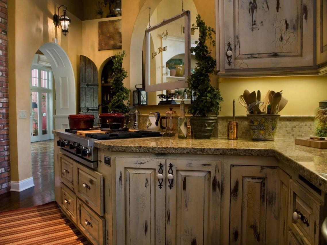 Vintage Looking Kitchen Cabinets