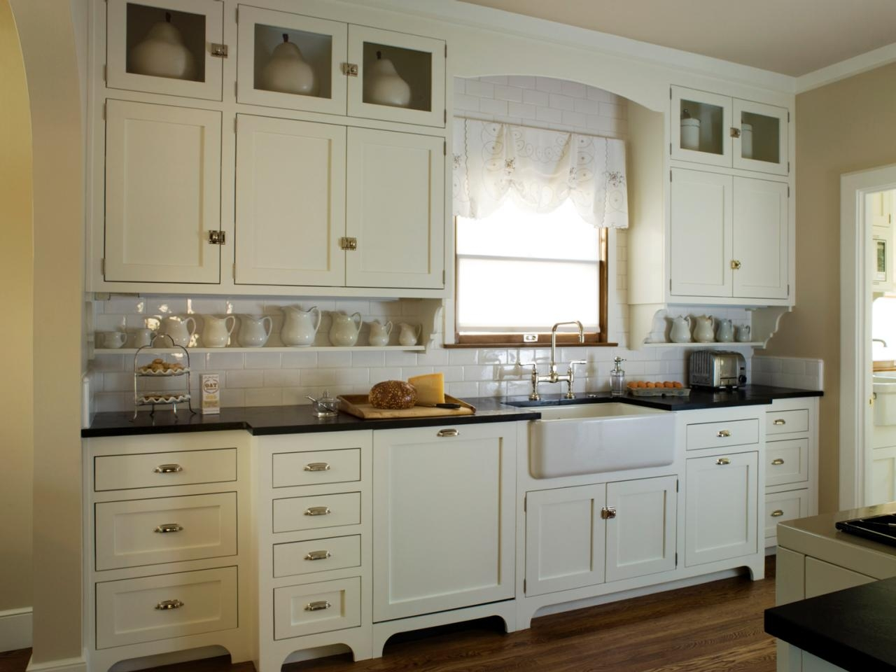 Permalink to White Kitchen Cabinets Cottage Style