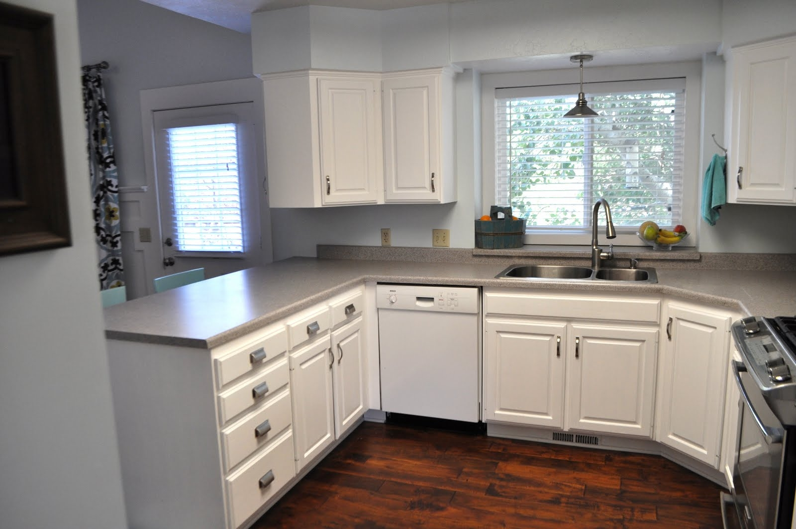 White Kitchen Cabinets Not Wood
