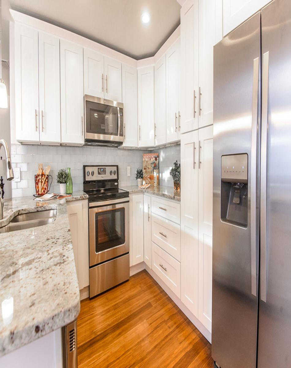 White Shaker Cabinets For Kitchen