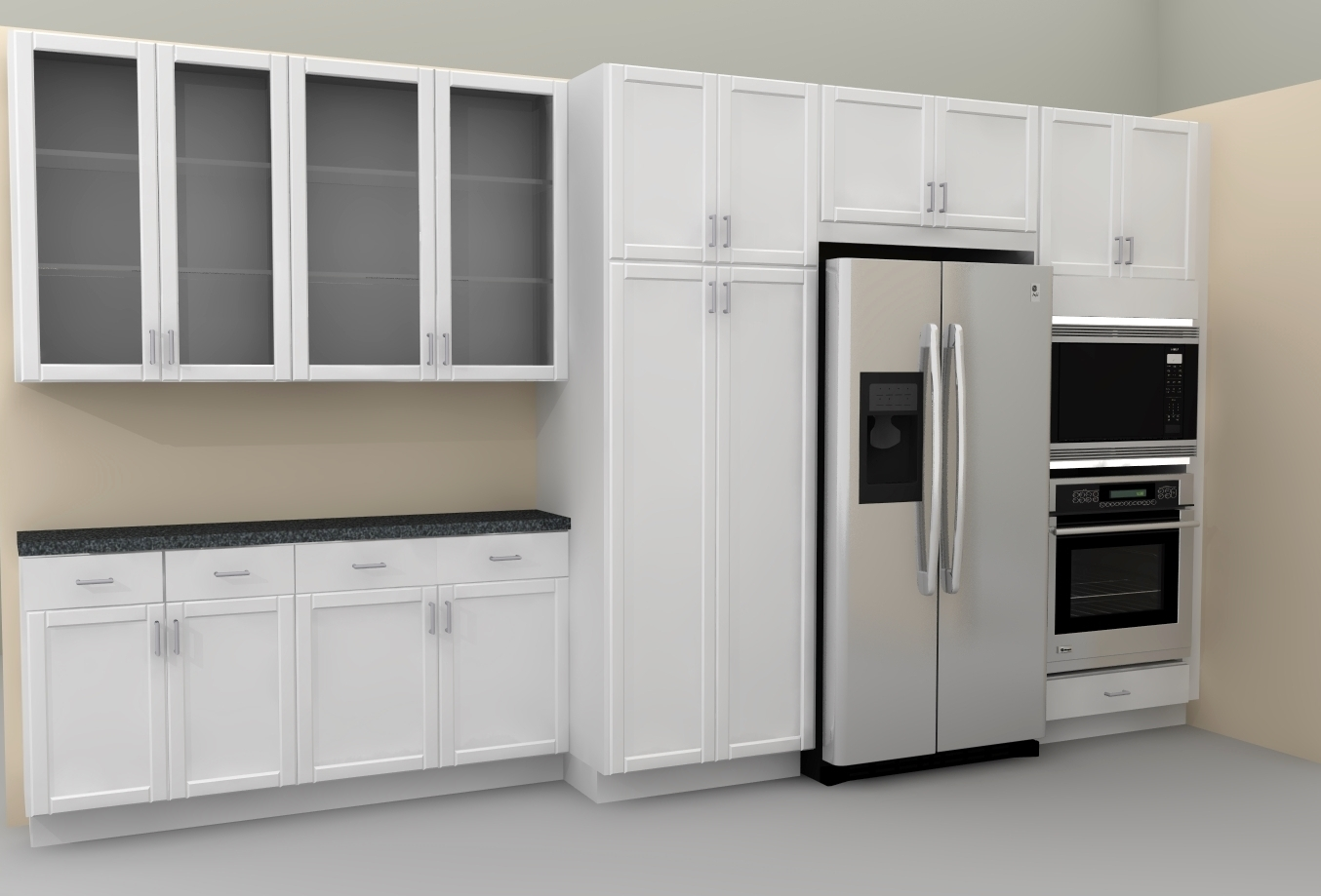Wide Kitchen Wall Cabinets